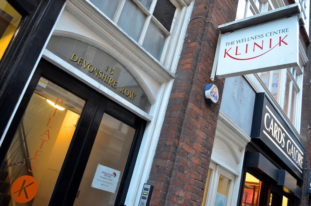 The Klinik, Devonshire Row
